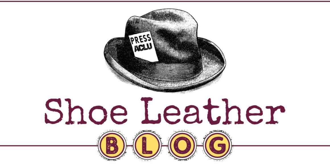 Shoe Leather Blog Masthead