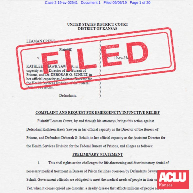 Crews v. Hawk filed