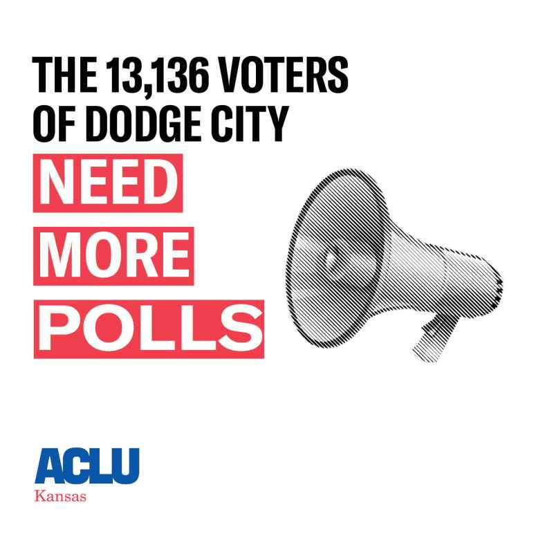 dodge city needs more polls.