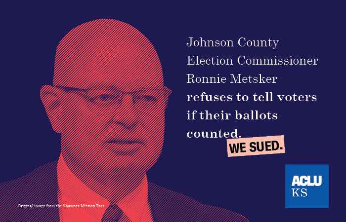 We sued - Metsker refuses to tell voters if their ballots counted