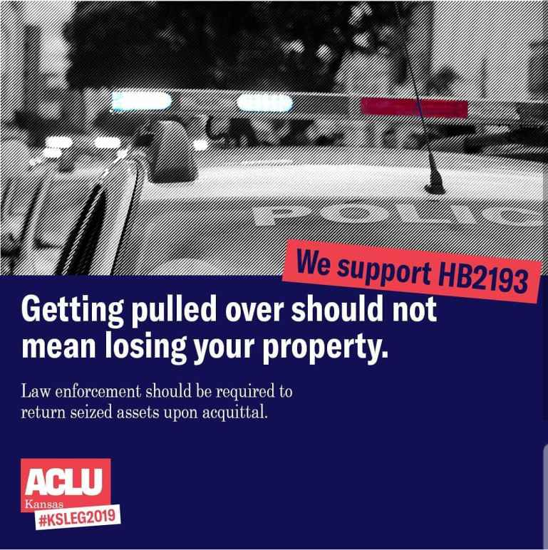 getting pulled over should not mean losing your property