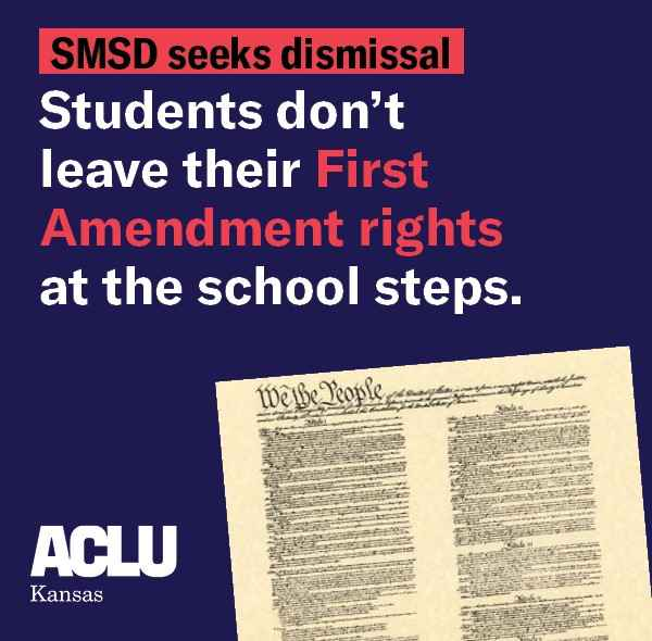 SMSD students dont leave their first Amendment rights at the school steps.