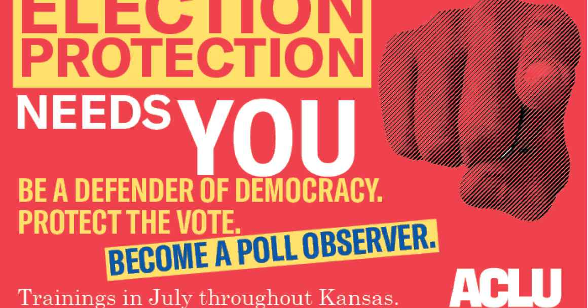 Election Protection needs YOU.